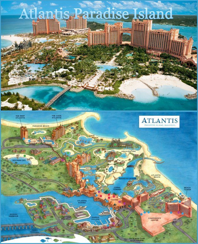 Atlantis Paradise Island Kid Friendly Vacation spots