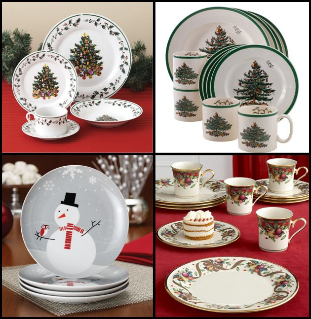 Christmas Kitchen Decorating Ideas Dishsets