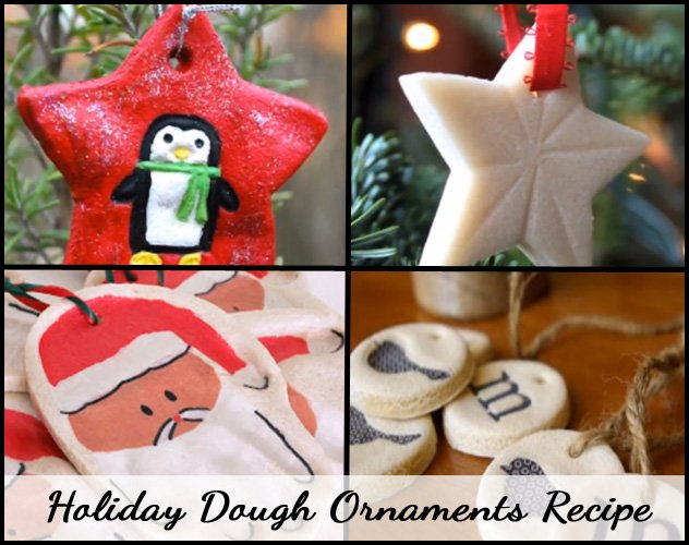 Holiday Dough Ornaments Recipe