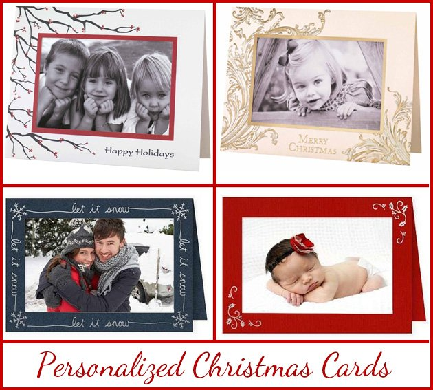 Personalized Christmas Cards Online