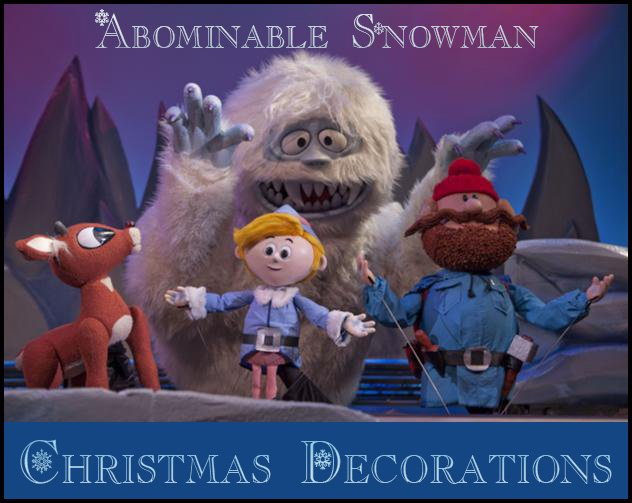 abominable snowman christmas decoration - Rudolph And Friends Christmas Decorations