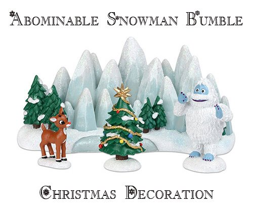 Abominable Snowman Christmas Decoration bumble
