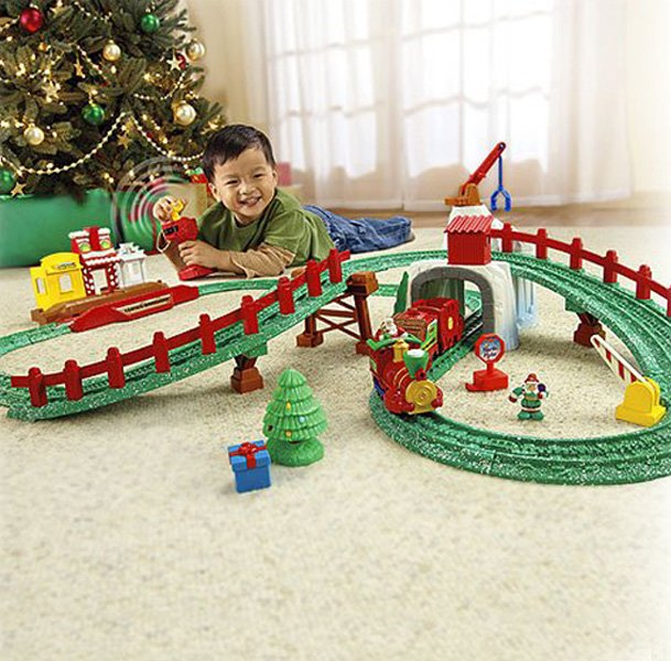 Fisher Prісе Gеоtrаx Nоrth Pоlе Exрrеѕѕ Christmas Train Sets For Under The  Tree