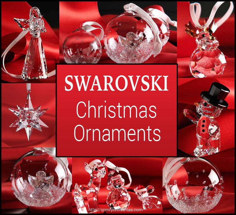 Swarovski Christmas Ornaments