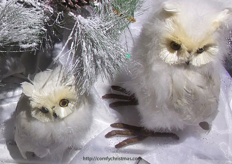 Owl Christmas Tree Ornaments Whimsical Fun Owls For Your Christmas