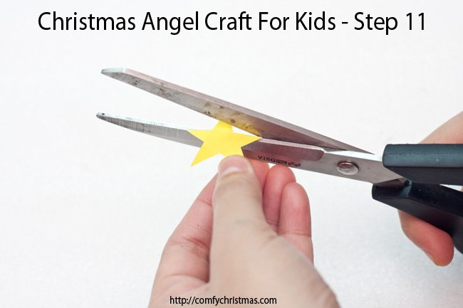 Christmas Angel Craft For Kids - Step 11