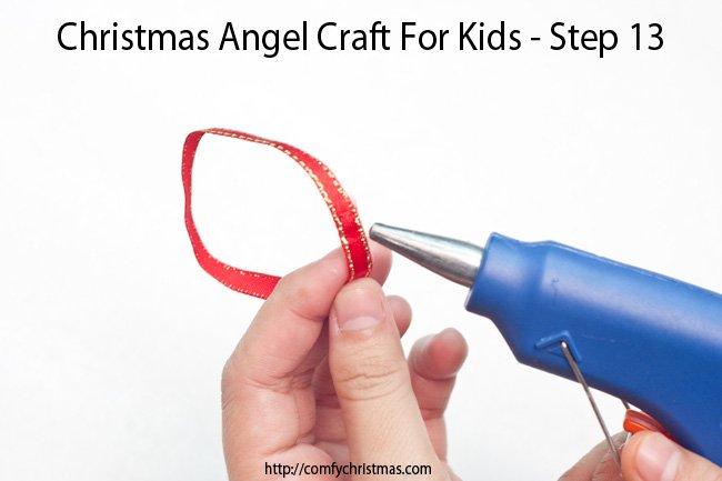 Christmas Angel Craft For Kids - Step 13