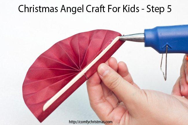 Christmas Angel Craft For Kids - Step 5