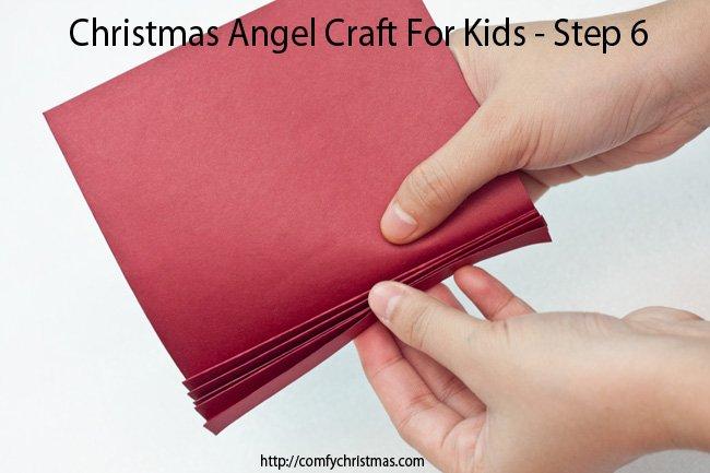 Christmas Angel Craft For Kids - Step 6