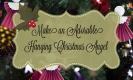 Hanging Christmas Angel Craft For Kids And Adults