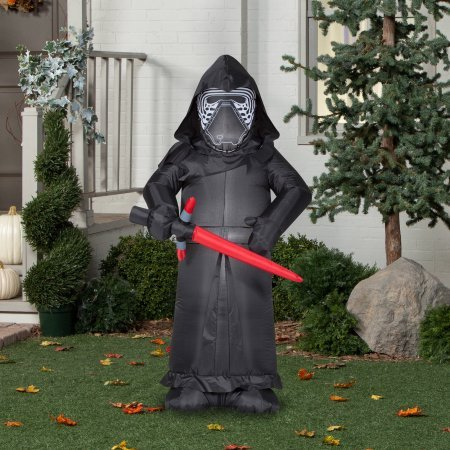 kylo ren star wars inflatable christmas decorations - Star Wars Blow Up Christmas Decorations