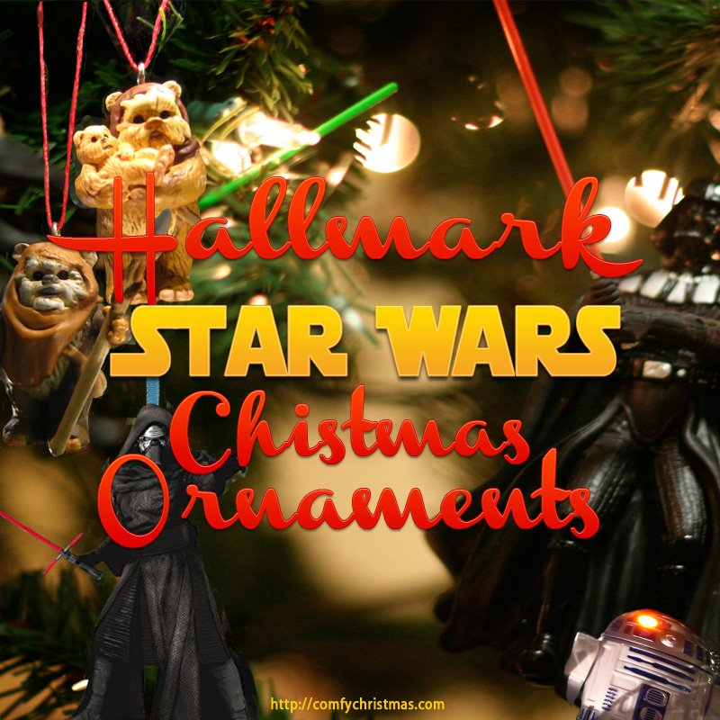 hallmark star wars chistmas ornaments - Star Wars Christmas Decorations