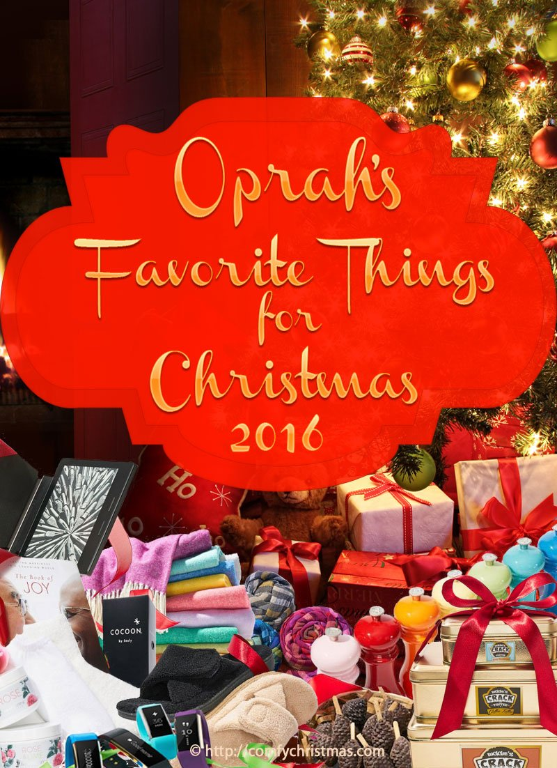 Great Christmas Gift Ideas For Women - Oprahs Favorite Things