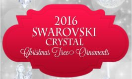Swarovski Crystal Christmas Tree Ornaments