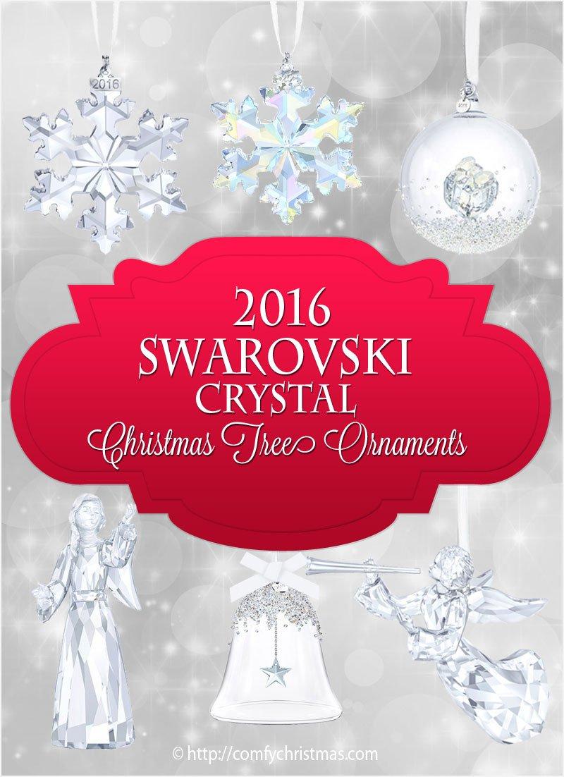 2016 Swarovski Crystal Christmas Tree Ornaments