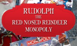 Rudolph Red Nosed Reindeer Monopoly