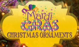 Mardi Gras Christmas Ornaments