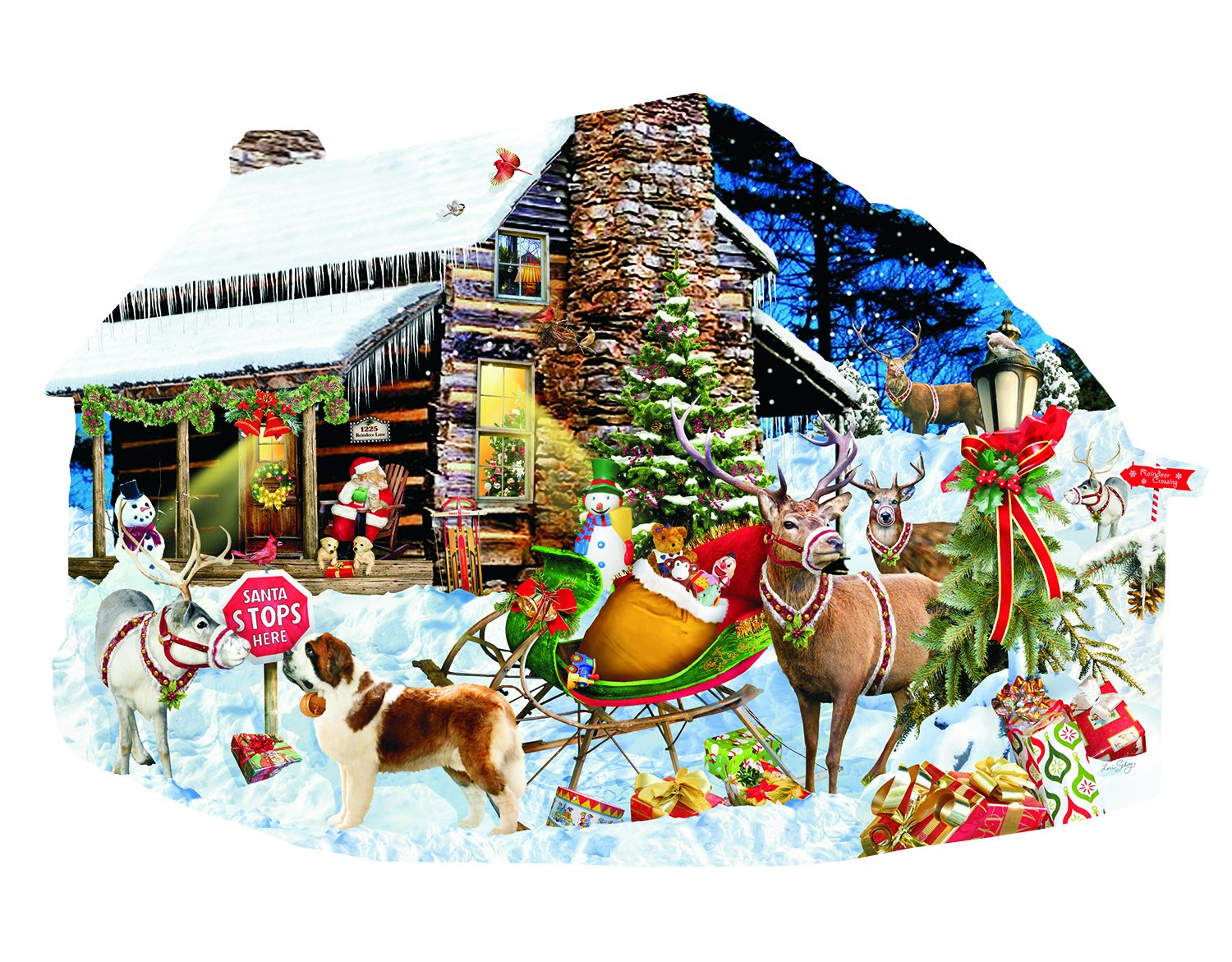 buy christmas shaped jigsaw puzzles online