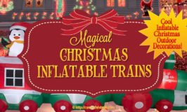 Christmas Inflatable Train