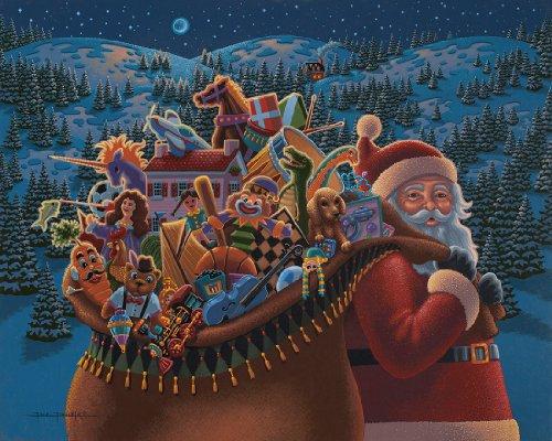 Folk Art Christmas Gingerbread House Paintings