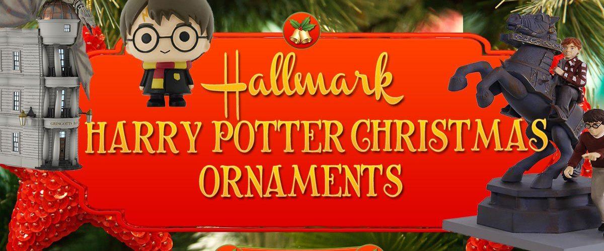 Hallmark Harry Potter Christmas Ornaments