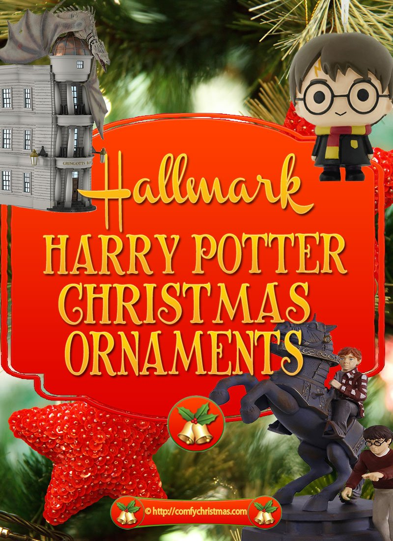 hallmark harry potter christmas ornaments - Harry Potter Christmas Decorations