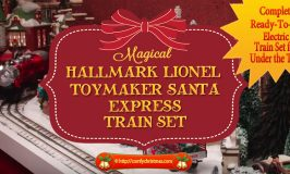 Hallmark Lionel Train Set | Toymaker Santa Express Hallmark Lionel Train Set