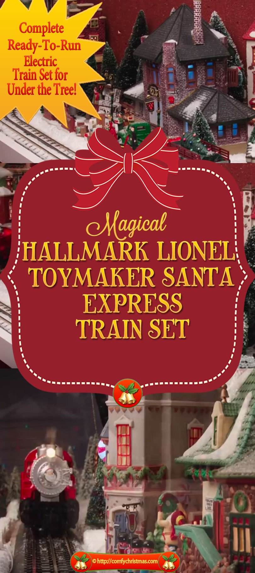 Hallmark Lionel Train Set