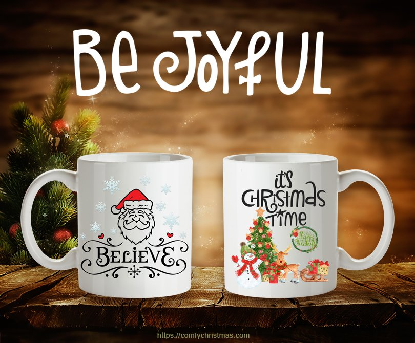 how to make christmas mugs