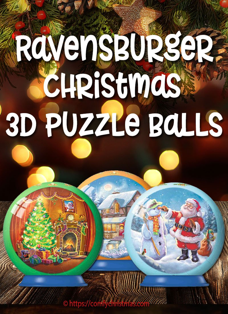Ravensburger Christmas Puzzle Ball