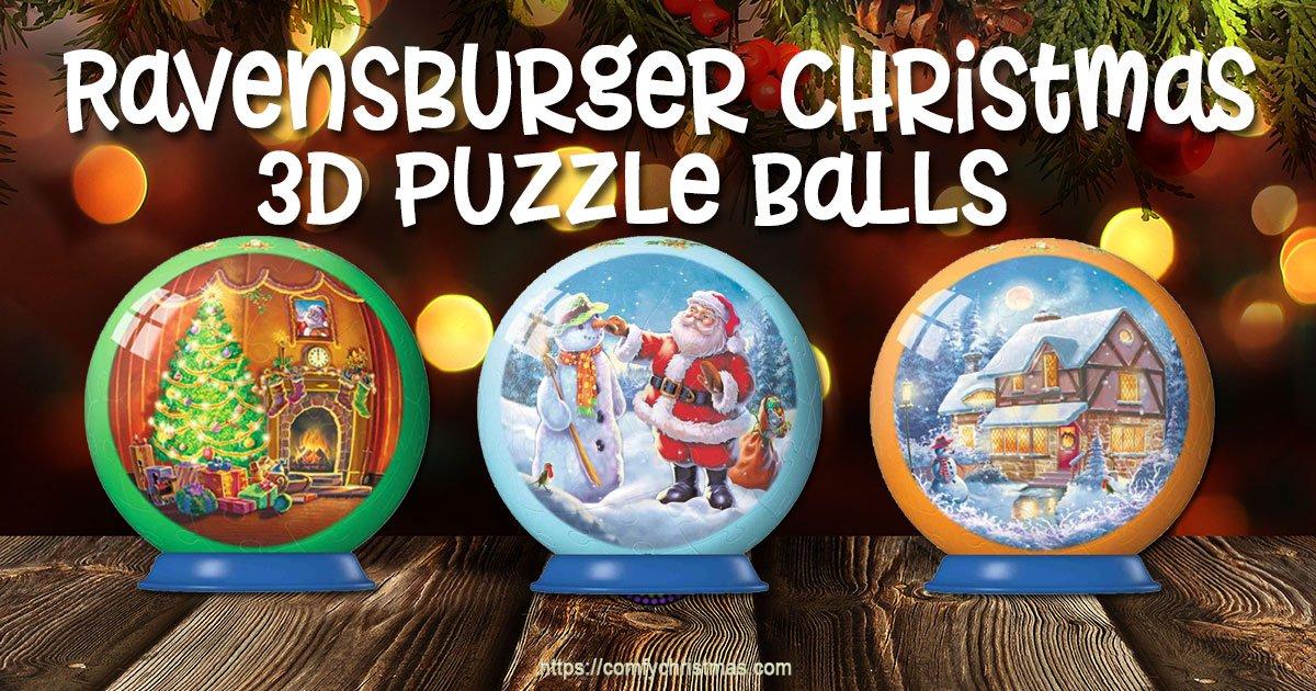 Ravensburger Christmas Puzzle Ball Comfy Christmas