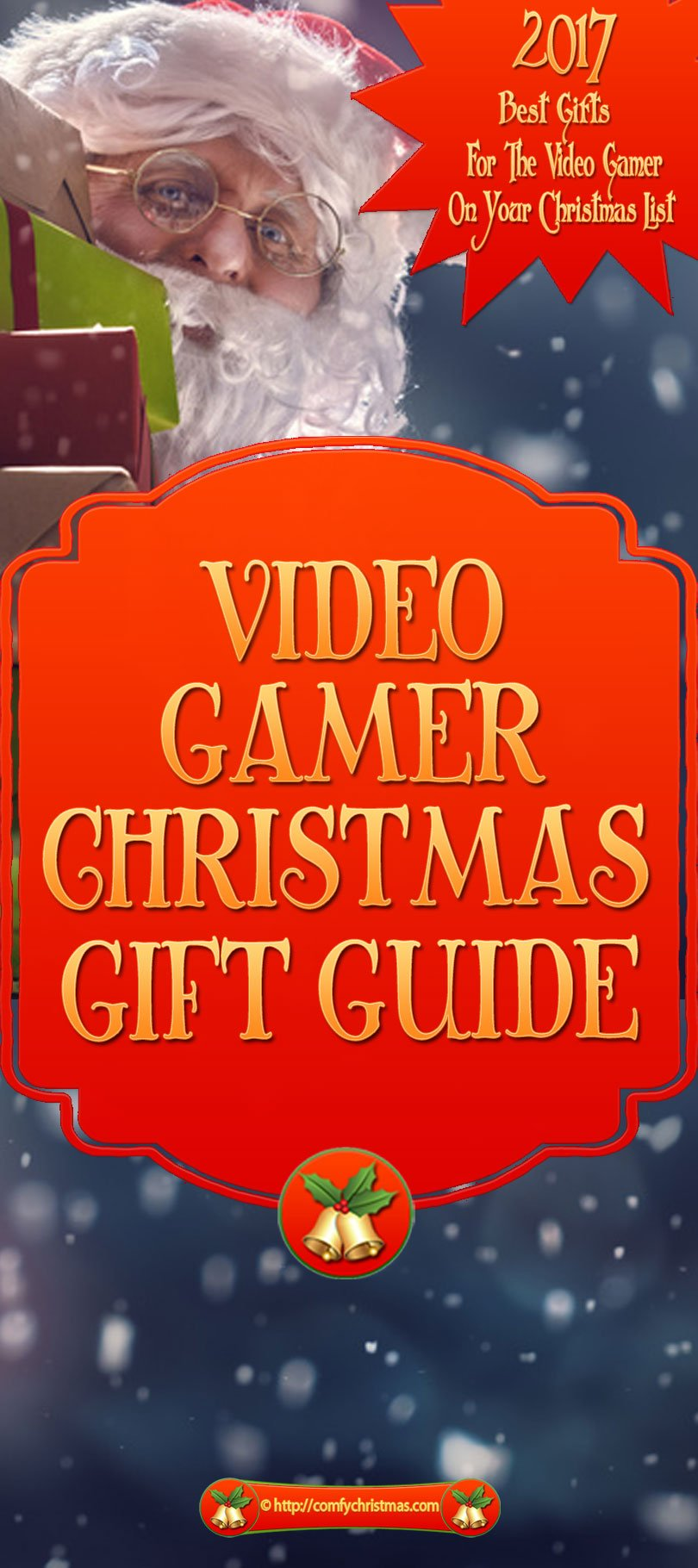 Video Gamer Gifts 2017 Video Games Gift Guide