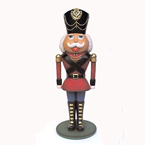 truly whimsical life size soldier nutcracker measures 6 ft tall