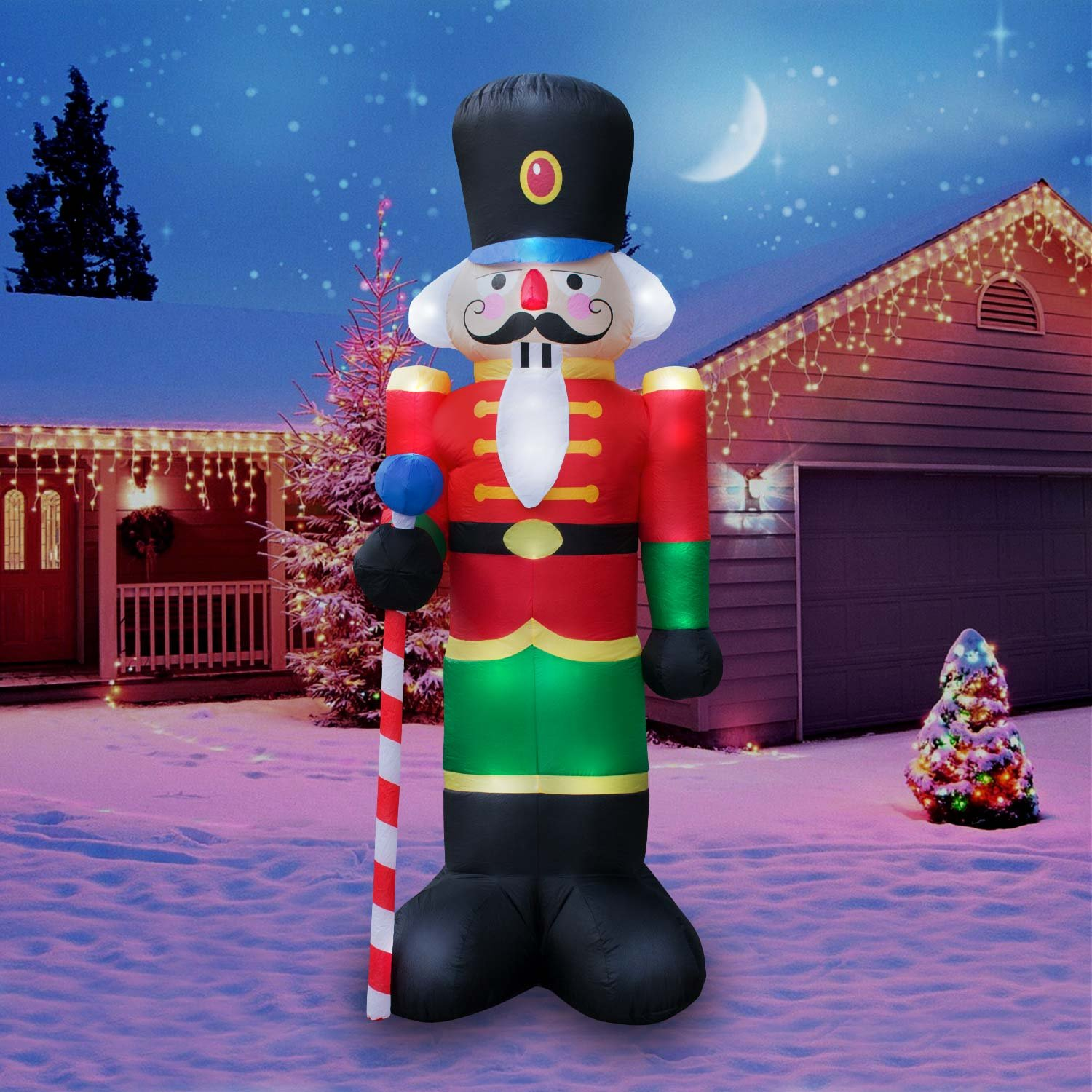 nutcracker soldier decorations outdoor christmas inflatables - Christmas Soldier Decorations