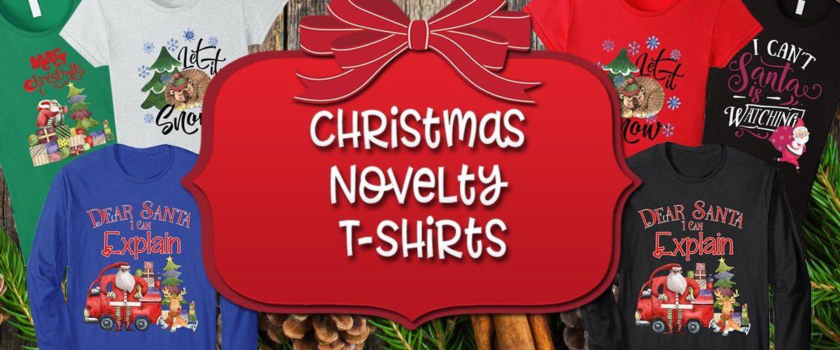 Christmas Novelty T Shirts