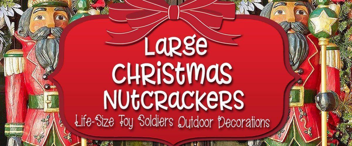 Large Outdoor Nutcracker Deciration