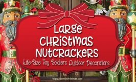 Large Outdoor Nutcracker Deciration