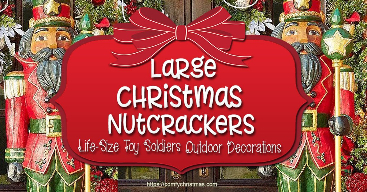 large outdoor nutcracker decoration life size nutcracker decorations - Large Life Size Toy Soldier Christmas Outdoor Decorations