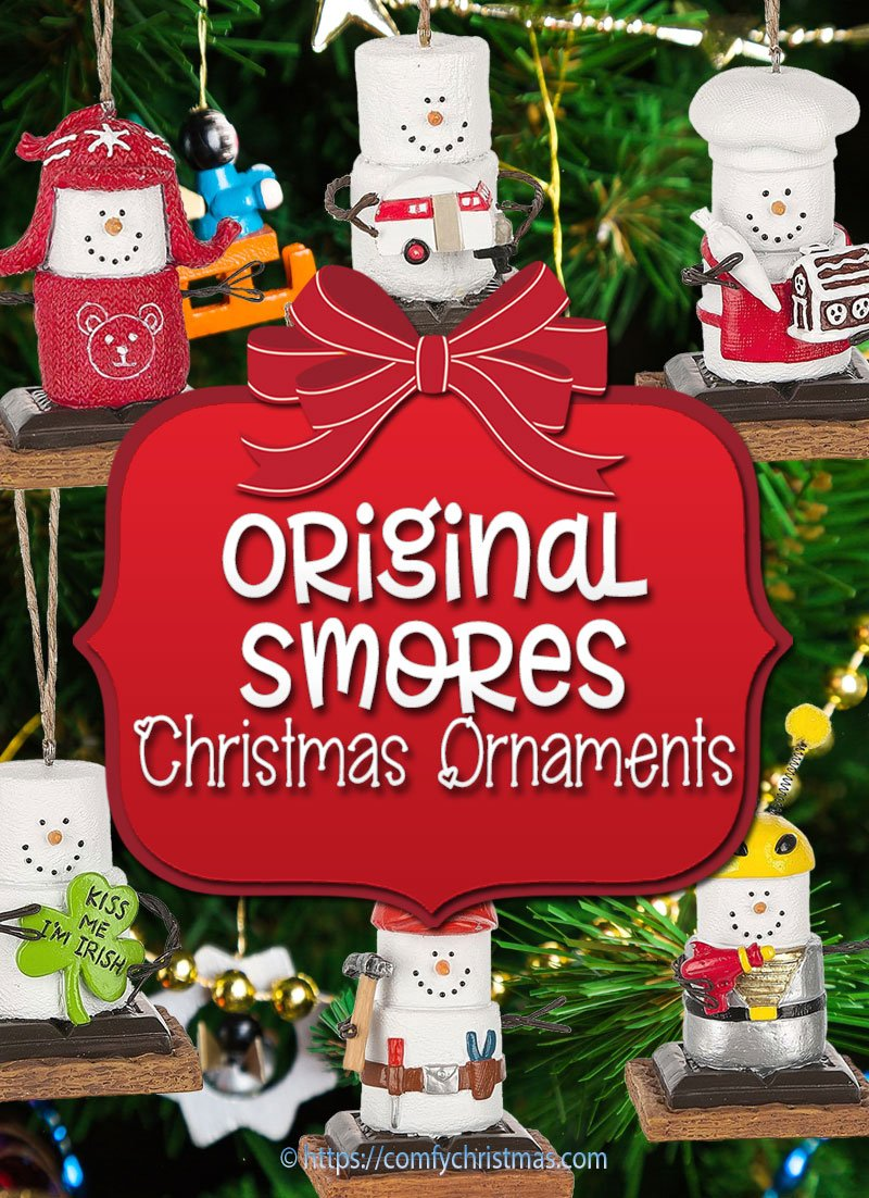 Original Smores Ornaments