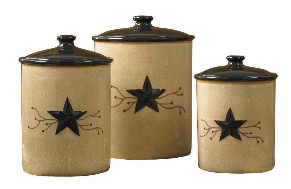 primitive kitchen canisters country kitchen canister sets gift for country 14637