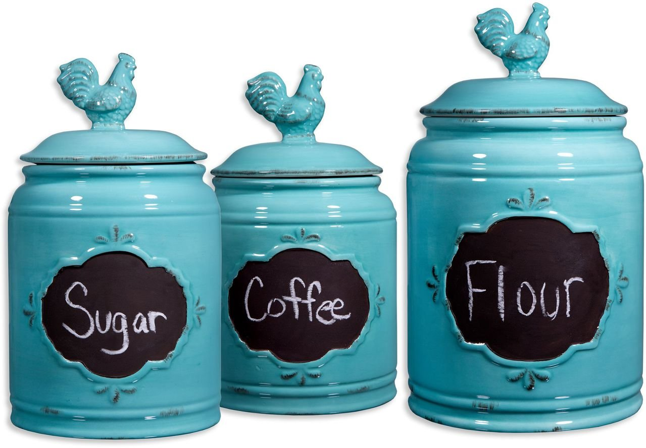 Country Kitchen Canister Sets | Perfect Gift for Country Style Lovers