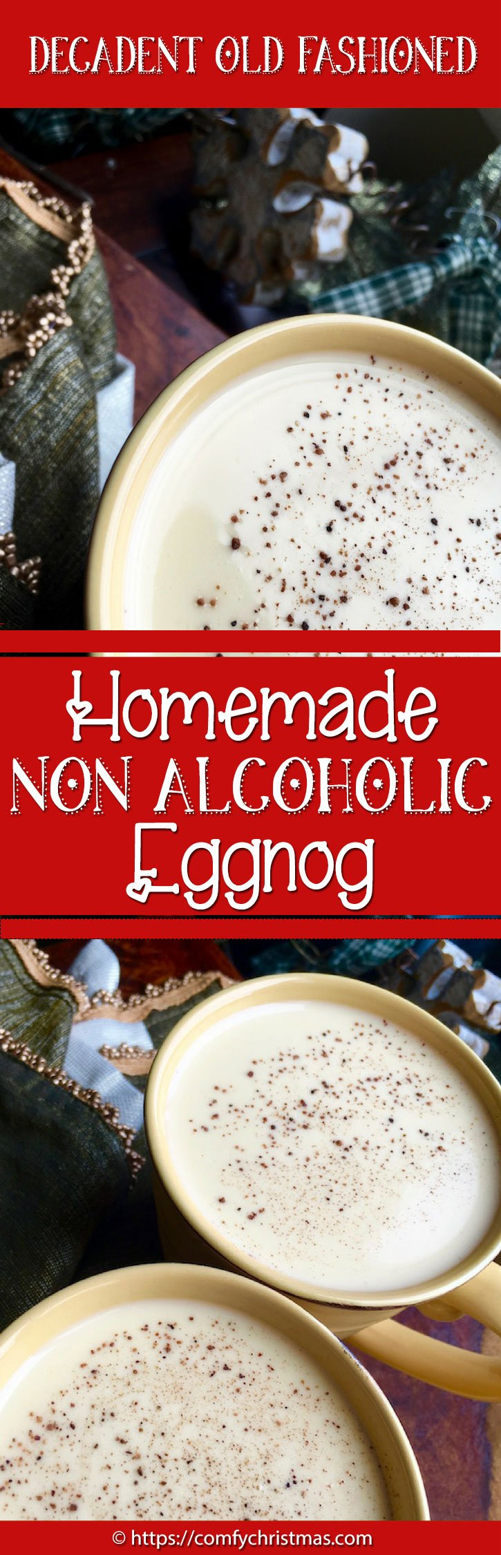 Homemade Non Alcoholic Eggnog Recipe