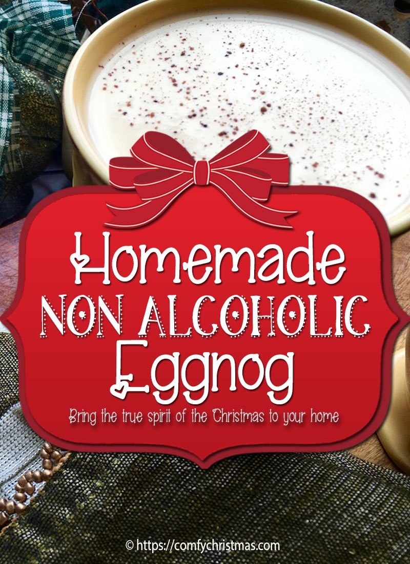 Homemade Non Alcoholic Eggnog