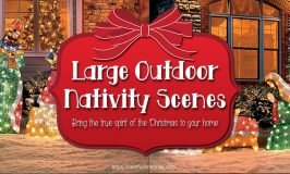Large Outdoor Nativity Scenes