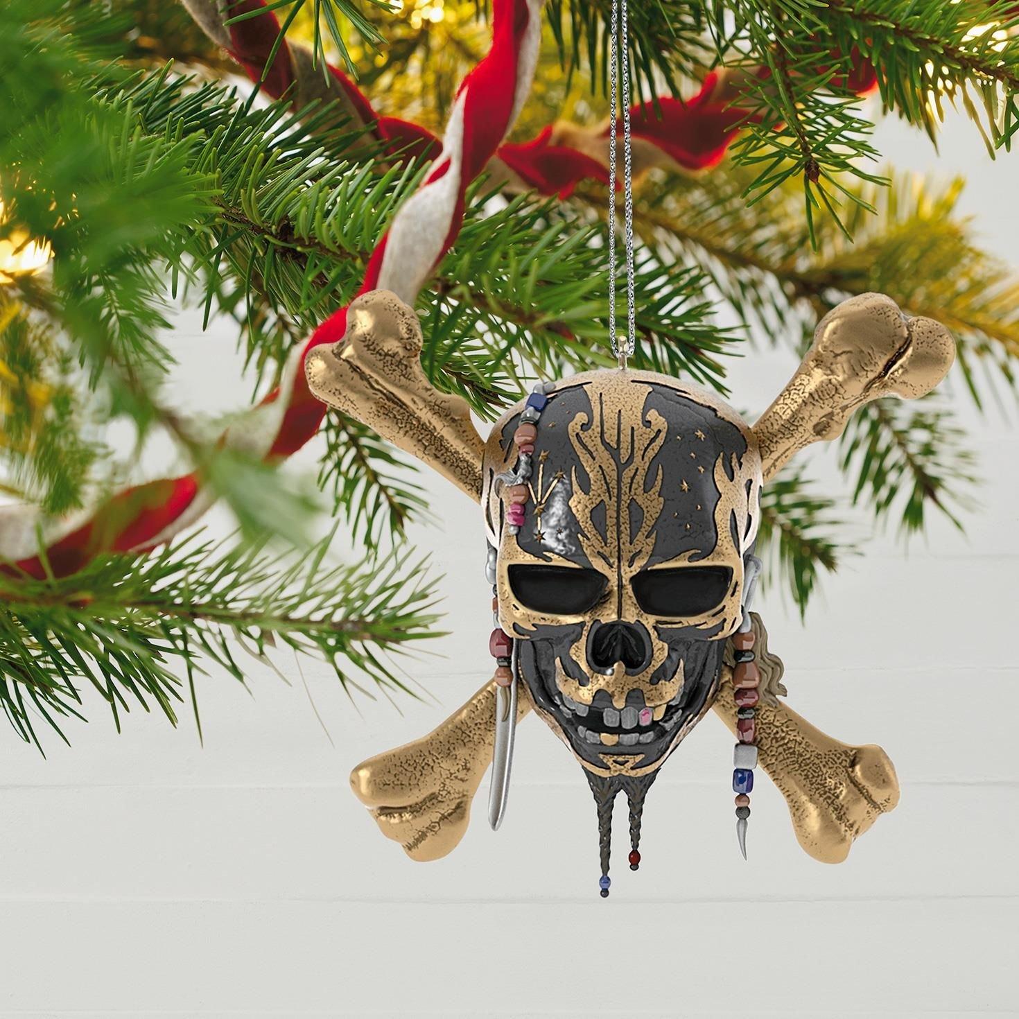 DISNEY PIRATES OF THE CARIBBEAN  JACK SPARROW  CHRISTMAS TREE DECORATION