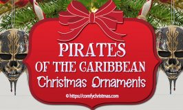 Pirates Of The Caribbean Ornaments