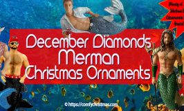 December Diamonds Merman Ornaments