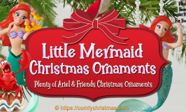 Little Mermaid Christmas Ornament