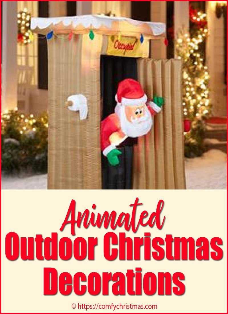 animated outdoor christmas decorations comfy christmas - African American Outdoor Christmas Decorations