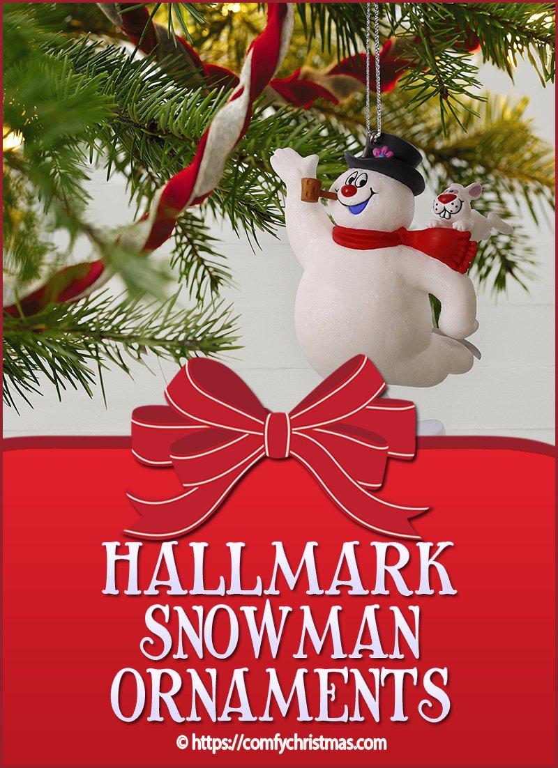 Hallmark Snowman Ornaments
